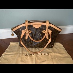 Authentic Louis Vuitton Monogram Tivoli GM M40144